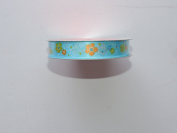 CraftSmart 100% Polyester 1.6cm . x 2.7m Petite Flower Pattern Ribbon - Great for Any Occasion!