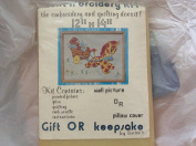 Quilt and Embroidery Kit Horse and Cart Vintage