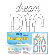CP Stretched Canvas and Paint Kit 15cm x 20cm -Dream Big
