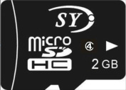 2GB Micro TF / SD Card With Card Reader