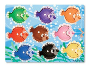 Colorful Fish Peg Puzzle