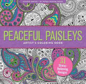 Peaceful Paisleys Adult Colouring Book (31 stress-relieving designs)