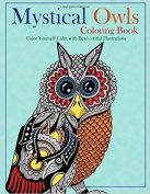 Mystical Owls Coloring Book