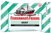 Fisherman's Friend Sugar Free Refreshing Mint Flavour Cough Lozenges, 25g each pack