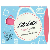 Lil-Lets Teens Liners (16) - Pack of 2