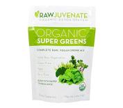 Raw Green Organics Rawjuvenate Organic Super Greens, 112 Gramme