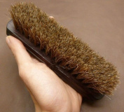 100% Horsehair Polish Brush For Leather, Shoe, Bag,Boots QUALITY