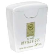 Desert Essence Dental Floss-Tea Tree Oil 50 Yard Floss by Desert Essence