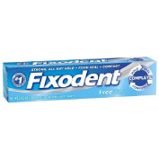 Fixodent Strong All-Day Hold Complete Free Denture Adhesive Cream 70ml