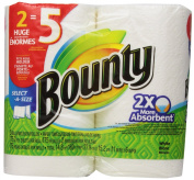 Bounty Select-a-Size Paper Towels, White, 2 Huge Rolls, 2 ct