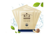 Snail Extract Hyaluronic Acid Facial Gel Mask Skin Collagen Anti Ageing Wrinkles Exfoliating Rejuvenating 5 Pcs Pack