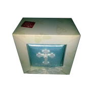 """Russ Berrie & Co. """"I Believe"""" My First Rosary In Box, Blue"""