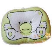 LSQtronics new born baby anti-bias pillow, lovely cartoon bear printed.