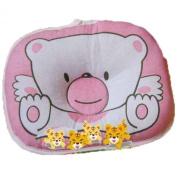 LSQtronics new born baby anti bias pillow, lovely cartoon bear printed.