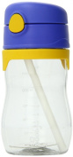 Thermos Foogo 330ml Bpa-free Phases Clear Baby Travel Straw Bottle Sippy Cup