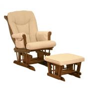 Sleigh Glider Chair - Espresso