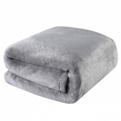Balichun Luxury 330 GSM Fleece Blanket Super Soft Warm Fuzzy Lightweight Bed or Couch Blanket Twin/Queen/King Size