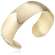 14k Gold-Filled Wide with Polished Finish Cuff Bracelet