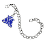 Georgia State Panthers Sterling Silver Colour Logo Charm Bracelet