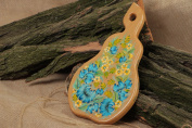 Wooden Handmade Decorative Cutting Board with Oil and Acrylic Painting