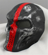 Gmask Chiefs Evil Cosplay Airsoft Wire Mesh Paintball Mask Replica