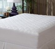 The Grand - Fitted Quilted Mattress Pad - Stretches To 41cm Deep (Full XL Size - 140cm x 200cm ) Full XL Mattress Cover