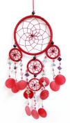 43cm Long Capiz Shell Hanging Native American Inspired Dream-catcher