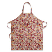 Couleur Nature Noel Apron, Red/Green