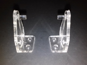 2.5cm Mini-Blind Hold Down Brackets - 20 Pack