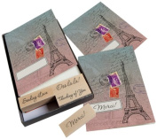 Hero Arts Add Your Message Eiffel Tower Cards with Messages