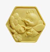 Longzang Bee Mould S337 Craft Art Silicone Soap Mould Craft Moulds DIY Handmade Candle Moulds