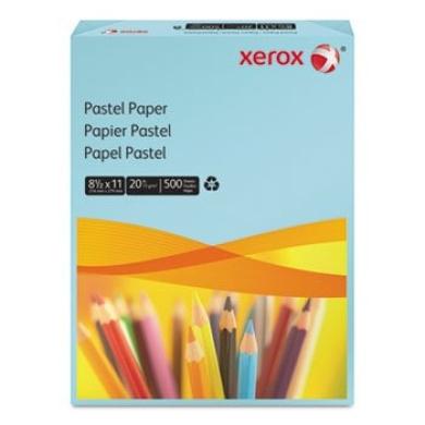 Multipurpose Pastel Coloured Paper, 9.1kg, Letter, Blue, 500 Sheets/Ream