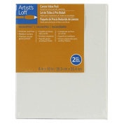 Artist's Loft Necessities Canvas Value Pack, 20cm x 25cm