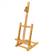 US Art Supply® Small Tabletop Studio H-Frame Easel