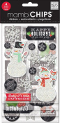 Me and My Big Ideas CBVX-44 Mambi Chips Baby It's Cold Outside Scrapbooking Supplies