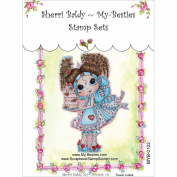My-Besties MYB102 Clear Stamp, Sweet Cakes, 10cm x 15cm
