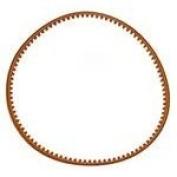 Alphasew Home Sewing Machine Belt length 36cm - 0.3cm x DIA 12cm Flat Belt with Teeth
