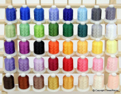 New Brother 40 Colours Embroidery Thread 1100yards Cones 40wt Polyester Threads from ThreadNanny