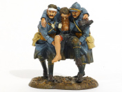 John Jenkins Designs Toy Soldiers French Infantry Three Wounded Soldiers GWF-30