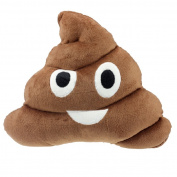 Bestpriceam® Amusing Emoji Emoticon Cushion Poo Shape Pillow Doll Toy Throw Pillow, 35*28cm/13.8*11.0inch