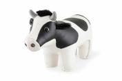 Zuny Classic Holstein Cow Animal Bookend - White/Black