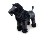 Zuny Classic Poodle Animal Bookend - Black