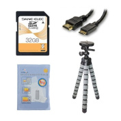 Panasonic HC-V270 Camcorder Accessory Kit includes