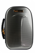 Bam New Trekking 1 Bb Clarinet Case - Silver Carbon - TREK3027S