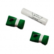 Saxophone Cleaning Swab Pack, 2 Green Felt Saxophone Cleaning Cloths + BONUS Cork Grease