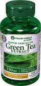 Vitamin World Super Strength Green Tea Extract 750mg - 100 caps
