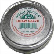 Amish Origins Draw Salve Ointment, 60ml Tin