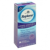 Replens Long Lasting Feminine Vaginal Moisturiser, 35 g (Pack of 4) 14 Applications and One reusable applicator