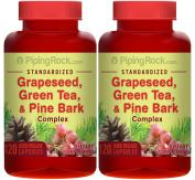Standardised Grapeseed, Green Tea & Pine Bark Complex 240 Capsules