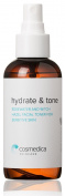 ROSEWATER & WITCH HAZEL FACIAL TONER--Gentle for Sensitive Skin-- Brighten, Balance and Nourish Skin (Post-Peel or Before Serum) -- Vegan, Organic Content, Paraben-Free